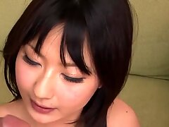 Japanese with sexy scones amazes with blowbang