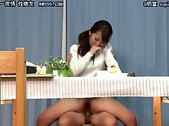 six - chinese milf Under The Desk Game - LinkFull In My Frofile