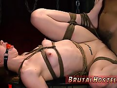 Skinny milf brutal caning and fucking