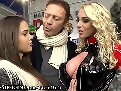 Rocco Siffredis Big Dick Shared by Shy Teen and MILF
