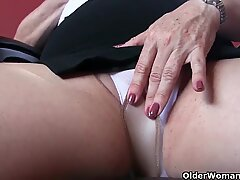 granny has a little additional meat on the stiffy
