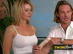 Pornographic reality TV show with amateur and mature swingers