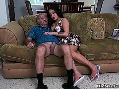 Mature threesome young guy Frannkie s a swift learner! - Rose A